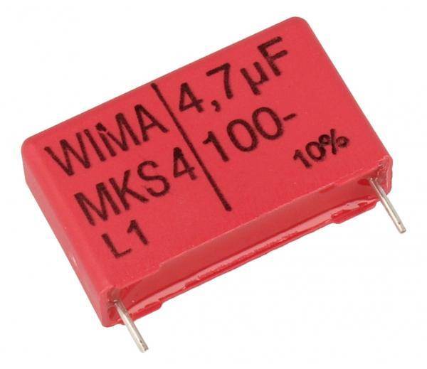 4.7uF | 100V Kondensator impulsowy MKS4 WIMA,0