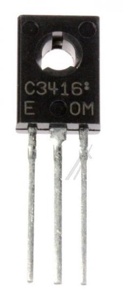 2SC3416 Tranzystor TO126 (npn) 200V 0.1A 70MHz,0