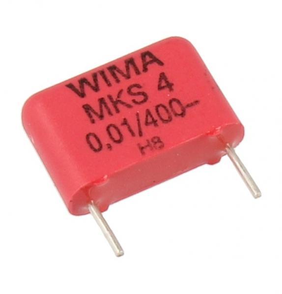 0.01uF   400V Kondensator impulsowy MKS4 WIMA,0