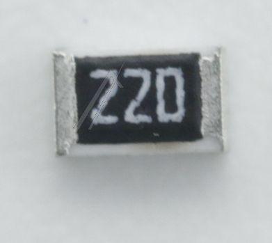 22R   0.1W   Rezystor SMD Philips 482205120229,0