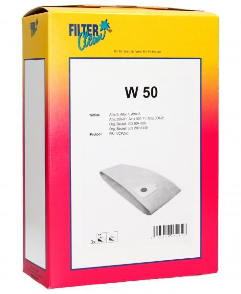 Worek W50 do odkurzacza 3szt.,0