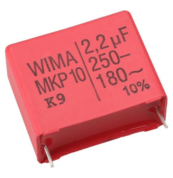 2.2uF | 250V Kondensator impulsowy MKP10 WIMA 26mm,0