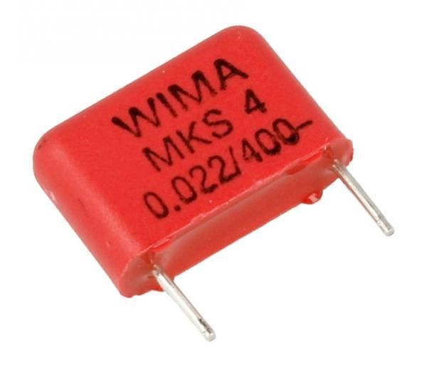 0.022uF   400V Kondensator impulsowy MKS4 WIMA,0