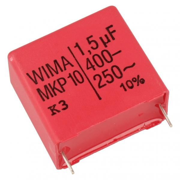1500nF | 400V Kondensator impulsowy MKP10 WIMA 29mm,0