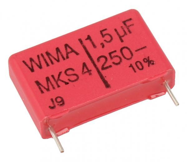 1.5uF | 250V Kondensator impulsowy MKS4 WIMA,0