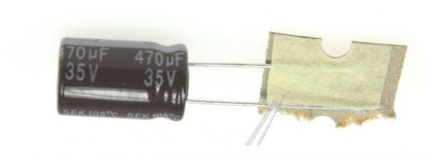 470uF | 35V Kondensator elektrolityczny 105°C 15mm/10mm,0