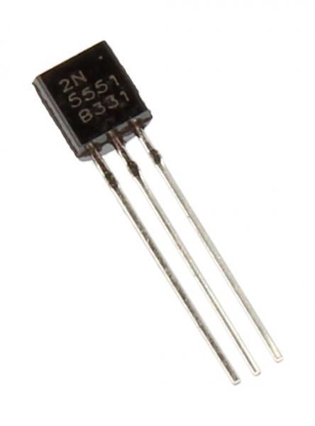 2N5551 Tranzystor TO-92 (npn) 160V 300mA 300MHz,0