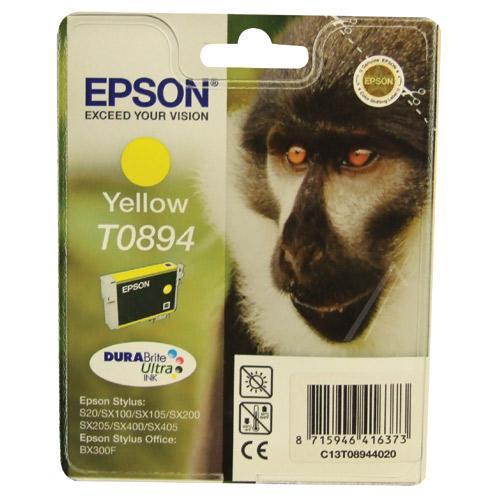 Tusz żółty do drukarki  C13T08944011,0