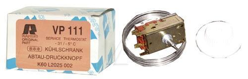 Termostat VP111 do lodówki K60L2025,0