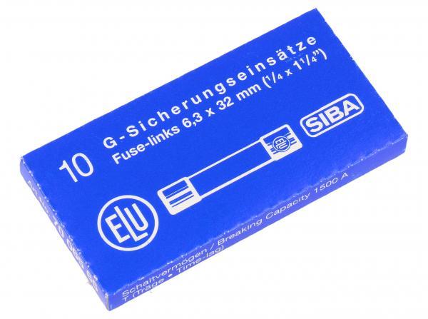 15A 500V Bezpiecznik zwłoczny (0.032mm/6.3mm) 10szt.,0