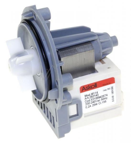 Silnik pompy odpływowej do pralki Electrolux 53188943574,0