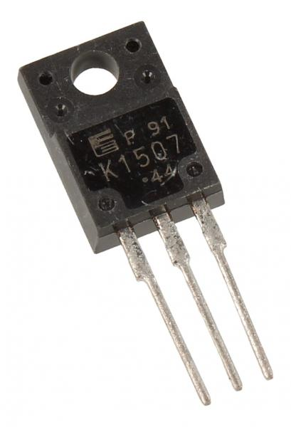 2SK1507 Tranzystor TO-220FP (n-channel) 600V 6A 12MHz,0