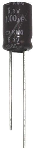 1000uF   6.3V Kondensator elektrolityczny 105°C 12.5mm/10mm,0