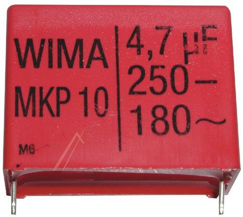 4.7uF | 250V Kondensator impulsowy MKP10 WIMA 32mm,0