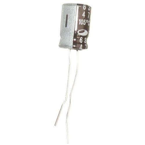 47uF | 63V Kondensator elektrolityczny 105°C 12mm/8mm,0