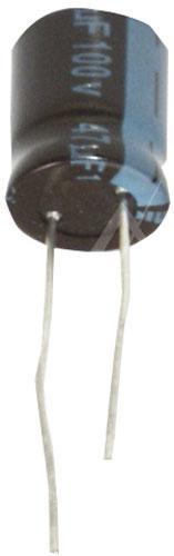 47uF | 100V Kondensator elektrolityczny 105°C 16mm/10mm,0