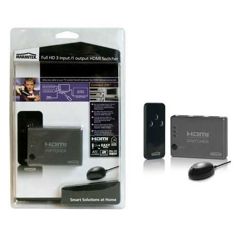 Switch HDMI (gniazdo x3/ gniazdo) 08247,0