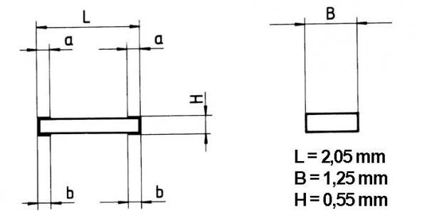680R | 0.125W | Rezystor SMD,0