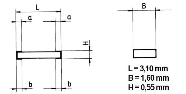 3K | 0.25W | Rezystor metalizowany SMD,0