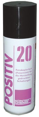 Preparat światłoczuły 20-POSITIV w sprayu Kontakt Chemie 20POSITIV 200ml,0