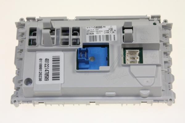 Moduł elektroniczny skonfigurowany do pralki 481221470509,0