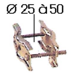 VERSPANNUNGSSATTEL  2 KLEMME D=25 BIS 50MM,0