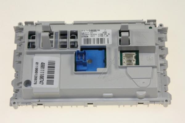 Moduł elektroniczny skonfigurowany do pralki 480111100747,0