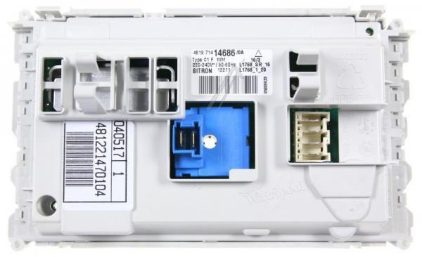 Moduł elektroniczny skonfigurowany do pralki 481221470104,0