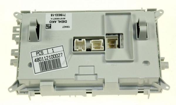 Moduł elektroniczny skonfigurowany do pralki 480112100027,0