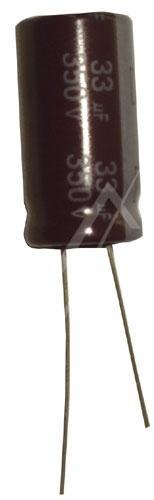 33uF   50V Kondensator elektrolityczny 105°C 25mm/13mm,0