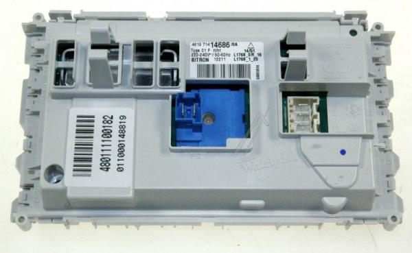 Moduł elektroniczny skonfigurowany do pralki 480111100182,0