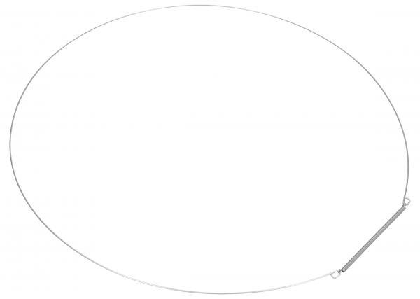 Opaska | Obejma fartucha (tylna) do pralki 480111100191,0