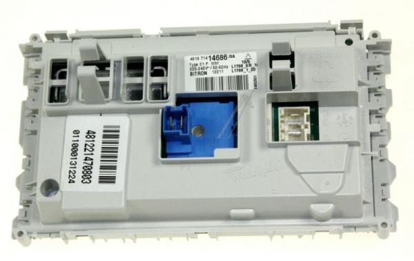 Moduł elektroniczny skonfigurowany do pralki 481221470803,0