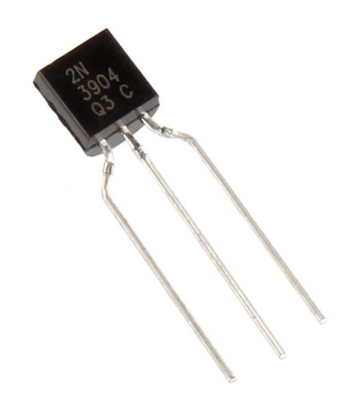 2N3904 Tranzystor TO-92 (NPN) 60V 0.2A 270MHz,0