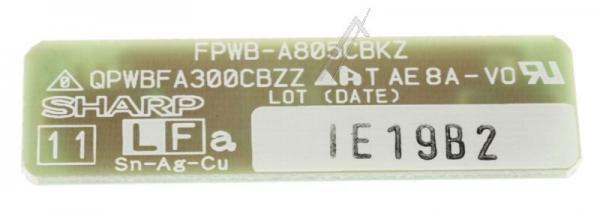 FPWBA805CBKZ P.W.B. EINHEIT SHARP,0
