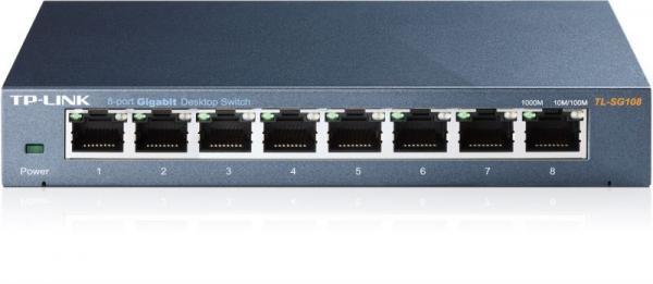 Switch LAN 8 portów TP-Link TLSG108,0