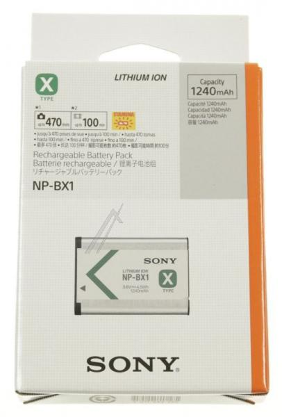 NPBX1CE Bateria | Akumulator 3.6V 1240mAh do kamery NPBX1CE,0