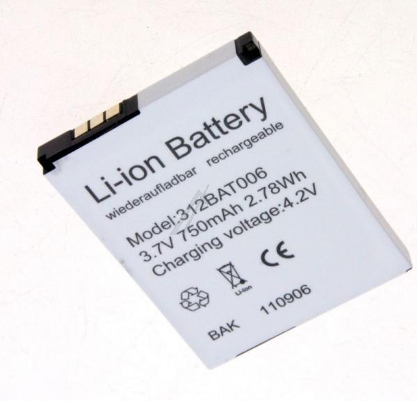 Akumulator 3.7V 700mAh telefonu bezprzewodowego 312BAT006,0