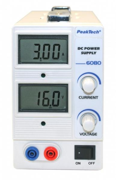 Zasilacz laboratoryjny P6080 Peaktech,0