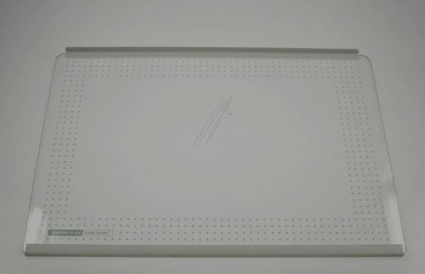 Szyba   Półka szklana kompletna do lodówki FTNAA550CBKZ,0