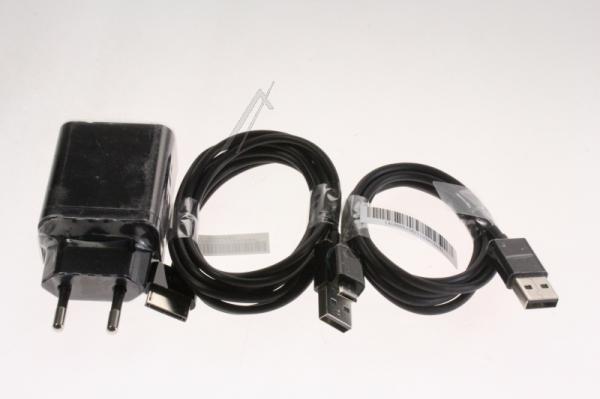 Ładowarka sieciowa USB + kable do tabletu Asus,0