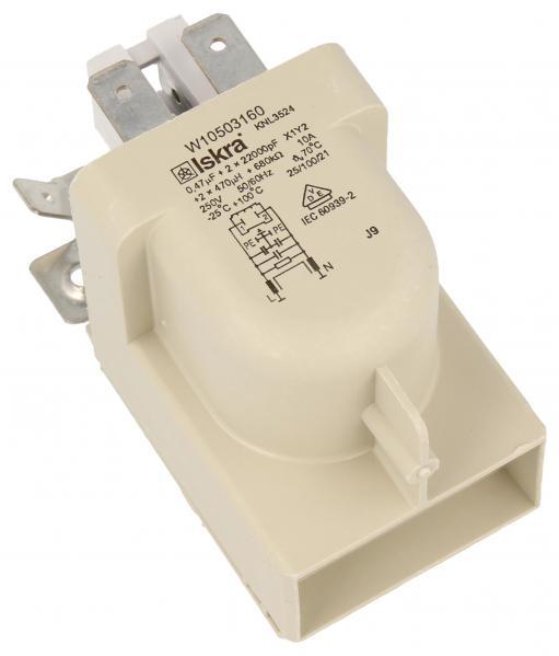 Filtr przeciwzakłóceniowy do pralki 481010503697,0