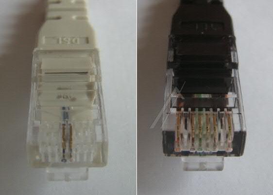 Kabel RJ-45 2.25m (wtyk/ wtyk)   (cat 5e) 321LK0038,0
