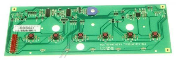 Płytka przycisków panelu sterowania do ekspresu do kawy 996530072455,0
