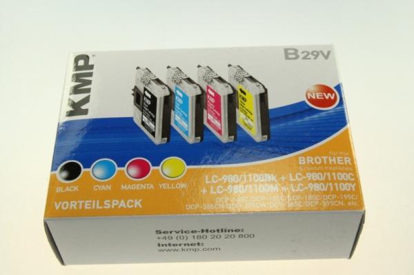 Multipack | Zestaw tuszy BK,C,M,Y do drukarki  B29V,0