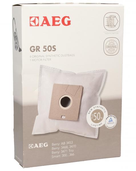 Worek do odkurzacza GR50S 4szt. (+filtr) 9001669796,0