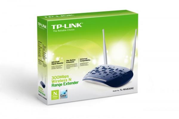 Repeater   Wzmacniacz sygnału WiFi TP-Link TLWA830RE,6