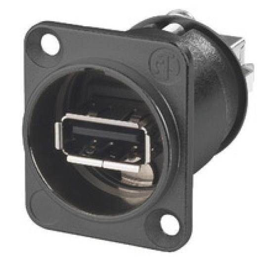 Adapter USB A - USB (gniazdo/ B gniazdo) NAUSBWB,0