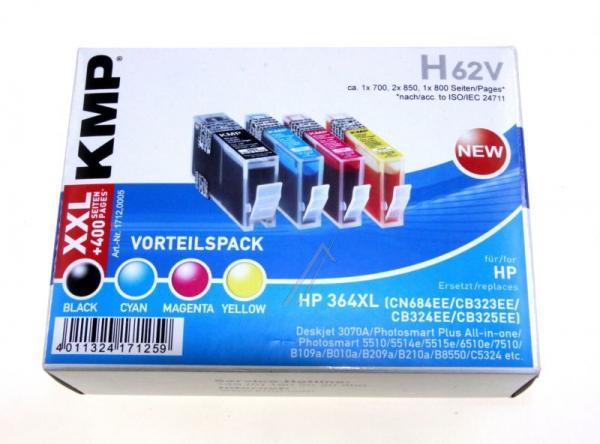 Multipack | Zestaw tuszy BK,C,M,Y do drukarki  H62V,0