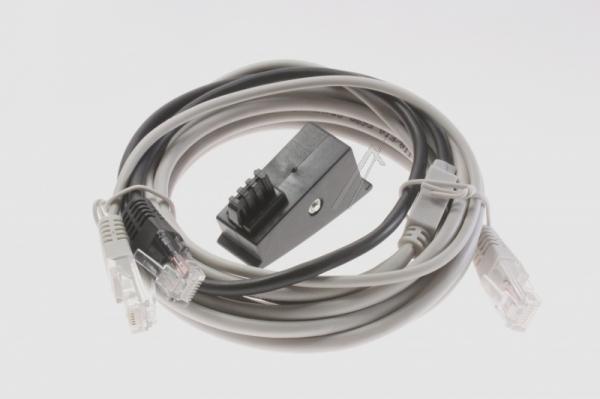 Kabel RJ-45 3m (wtyk/ wtyk)   (cat 5e),0